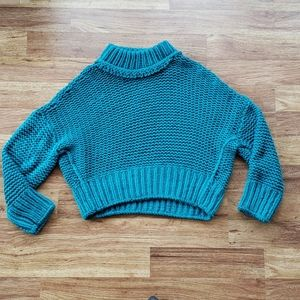 NWOT Free People My Only Sunshine Cuncky Sweater